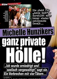 Titelbild der Ausgabe 11/2020 von Michelle Hunzikers: ganz private Hölle!. Zeitschriften als Abo oder epaper bei United Kiosk online kaufen.