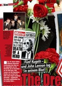 Titelbild der Ausgabe 11/2020 von Attentat: Fünf Kugeln – und John Lennon lag seinem Blut! The Dre am Is Over!. Zeitschriften als Abo oder epaper bei United Kiosk online kaufen.