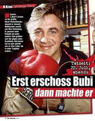 Titelbild der Ausgabe 12/2021 von Fahrlässige Tötung: Erst erschoss Bubi Scholz seine Fraudann machte er ein Nickerchen!. Zeitschriften als Abo oder epaper bei United Kiosk online kaufen.
