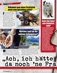 """Titelbild der Ausgabe 12/2021 von Verhör: """"Ach, ich hätte da noch 'ne Frage…"""". Zeitschriften als Abo oder epaper bei United Kiosk online kaufen."""