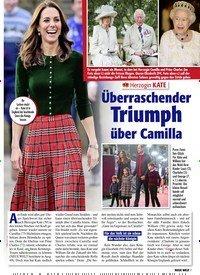 Titelbild der Ausgabe 7/2021 von Herzogin KATE: Überraschender Triumph über Camilla. Zeitschriften als Abo oder epaper bei United Kiosk online kaufen.