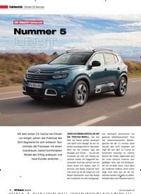 Titelbild der Ausgabe 6/2018 von Fahrbericht Citroën C5 Aircross: SUV MAGAZIN Fahrbericht: Nummer 5 LEBT. Zeitschriften als Abo oder epaper bei United Kiosk online kaufen.