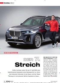 Titelbild der Ausgabe 6/2018 von Vorstellung BMW X7: SUV MAGAZIN Weltpremiere: DER 7. Streich. Zeitschriften als Abo oder epaper bei United Kiosk online kaufen.