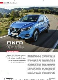 Titelbild der Ausgabe 6/2018 von Fahrbericht Nissan Qashqai: EINER für alle: SUV MAGAZIN Fahrbericht. Zeitschriften als Abo oder epaper bei United Kiosk online kaufen.