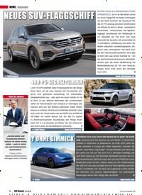 Titelbild der Ausgabe 2/2019 von Automobil. Zeitschriften als Abo oder epaper bei United Kiosk online kaufen.