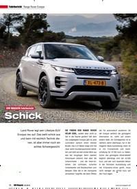 Titelbild der Ausgabe 2/2019 von Fahrbericht: Range Rover Evoque: SUV MAGAZIN Fahrbericht: Schick UND SCHWER. Zeitschriften als Abo oder epaper bei United Kiosk online kaufen.