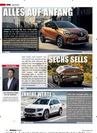 Titelbild der Ausgabe 4/2019 von SECHS SELLS. Zeitschriften als Abo oder epaper bei United Kiosk online kaufen.