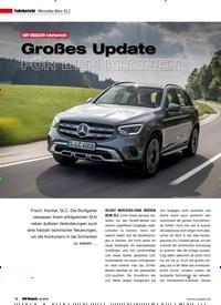 Titelbild der Ausgabe 4/2019 von Fahrbericht Mercedes-Benz GLC: Großes Update FÜR DEN KLEINEN. Zeitschriften als Abo oder epaper bei United Kiosk online kaufen.