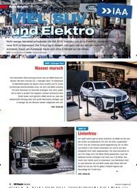Titelbild der Ausgabe 5/2019 von Messe-Neuheiten: IAA 2019: VIEL SUV und Elektro. Zeitschriften als Abo oder epaper bei United Kiosk online kaufen.