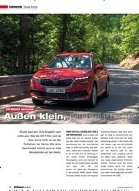 Titelbild der Ausgabe 5/2019 von Skoda Kamiq: SUV MAGAZIN Fahrbericht: Außen klein, INNEN RIESIG. Zeitschriften als Abo oder epaper bei United Kiosk online kaufen.