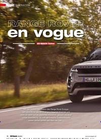 Titelbild der Ausgabe 5/2019 von SUV MAGAZIN Titeltest: RANGE ROVER en vogue. Zeitschriften als Abo oder epaper bei United Kiosk online kaufen.