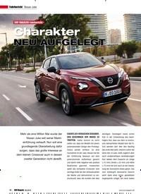 Titelbild der Ausgabe 6/2019 von Fahrbericht Nissan Juke: SUV MAGAZIN Fahrbericht: Charakter NEU AUFGELEGT. Zeitschriften als Abo oder epaper bei United Kiosk online kaufen.