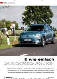 Titelbild der Ausgabe 6/2019 von Hyundai Kona Elektro: E wie einfach ALLTAGSTAUGLICH. Zeitschriften als Abo oder epaper bei United Kiosk online kaufen.