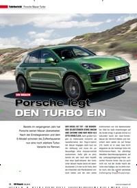 Titelbild der Ausgabe 6/2019 von Fahrbericht Porsche Macan Turbo: SUV MAGAZIN: Porsche legt DEN TURBO EIN. Zeitschriften als Abo oder epaper bei United Kiosk online kaufen.