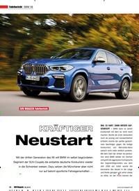 Titelbild der Ausgabe 6/2019 von Fahrbericht BMW X6: SUV MAGAZIN Fahrbericht KRÄFTIGEDR Neustart. Zeitschriften als Abo oder epaper bei United Kiosk online kaufen.