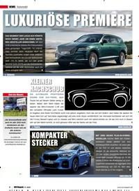 Titelbild der Ausgabe 1/2020 von Automobil: KLEINER NACHSCHUB. Zeitschriften als Abo oder epaper bei United Kiosk online kaufen.