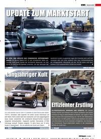 Titelbild der Ausgabe 1/2020 von Automobil: UPDATE ZUM MARKTSTART. Zeitschriften als Abo oder epaper bei United Kiosk online kaufen.
