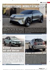 Titelbild der Ausgabe 2/2020 von Automobil: Kleiner Crossover mit drei Herzen. Zeitschriften als Abo oder epaper bei United Kiosk online kaufen.