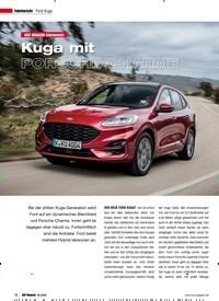 Titelbild der Ausgabe 2/2020 von Fahrbericht Ford Kuga: SUV MAGAZIN Fahrbericht: Kuga mit PORSCHE-CHARME. Zeitschriften als Abo oder epaper bei United Kiosk online kaufen.