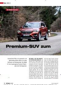 Titelbild der Ausgabe 2/2020 von BMW X1: SUV MAGAZIN Fahrbericht: Premium-SUV zum PREMIUM-PREIS. Zeitschriften als Abo oder epaper bei United Kiosk online kaufen.