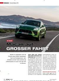 Titelbild der Ausgabe 2/2020 von Fahrbericht Porsche Macan GTS: SUV MAGAZIN: Macan auf GROSSER FAHRT. Zeitschriften als Abo oder epaper bei United Kiosk online kaufen.