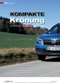 Titelbild der Ausgabe 4/2020 von TITELTEST Skoda Kamiq: KOMPAKTE Krönung. Zeitschriften als Abo oder epaper bei United Kiosk online kaufen.