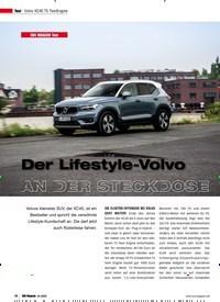 Titelbild der Ausgabe 4/2020 von Volvo XC40 T5 TwinEngine: Der Lifestyle-Volvo AN DER STECKDOSE. Zeitschriften als Abo oder epaper bei United Kiosk online kaufen.