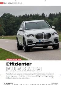 Titelbild der Ausgabe 4/2020 von BMW X5 xDrive45e: Effizienter HUBRAUM. Zeitschriften als Abo oder epaper bei United Kiosk online kaufen.