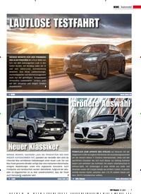 Titelbild der Ausgabe 1/2021 von Automobil: Größere Auswahl. Zeitschriften als Abo oder epaper bei United Kiosk online kaufen.