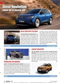 Titelbild der Ausgabe 1/2021 von Auto-News Neuheiten 2021: Diese Neuheiten sehen wir in diesem Jahr. Zeitschriften als Abo oder epaper bei United Kiosk online kaufen.