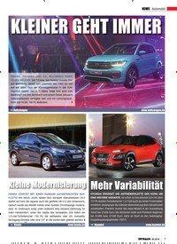 Titelbild der Ausgabe 6/2018 von Automobil: Kleine Modernisierung. Zeitschriften als Abo oder epaper bei United Kiosk online kaufen.