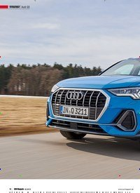 Titelbild der Ausgabe 2/2019 von TITELTEST: Audi Q3: Masse TRIFFT KLASSE: SUV MAGAZIN Titeltest. Zeitschriften als Abo oder epaper bei United Kiosk online kaufen.