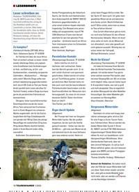 Titelbild der Ausgabe 1/2020 von ¦ LESERBRIEFE. Zeitschriften als Abo oder epaper bei United Kiosk online kaufen.
