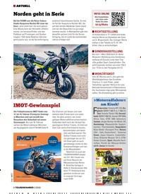 Titelbild der Ausgabe 2/2020 von IMOT-Gewinnspiel. Zeitschriften als Abo oder epaper bei United Kiosk online kaufen.