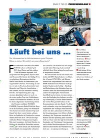 Titelbild der Ausgabe 2/2020 von BMW F 750 GS ZWISCHENBILANZ: Läuft bei uns …. Zeitschriften als Abo oder epaper bei United Kiosk online kaufen.