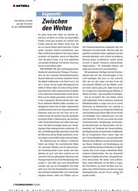 Titelbild der Ausgabe 3/2020 von Angemerkt: Zwischen den Welten. Zeitschriften als Abo oder epaper bei United Kiosk online kaufen.
