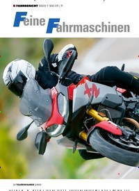 Titelbild der Ausgabe 3/2020 von FAHRBERICHT: BMW F 900 XR / R: Feine Fahrmaschinen. Zeitschriften als Abo oder epaper bei United Kiosk online kaufen.