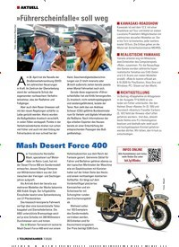 Titelbild der Ausgabe 7/2020 von AKTUELL: »Führerscheinfalle« soll weg. Zeitschriften als Abo oder epaper bei United Kiosk online kaufen.