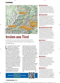 Titelbild der Ausgabe 8/2020 von Irrsinn aus Tirol. Zeitschriften als Abo oder epaper bei United Kiosk online kaufen.