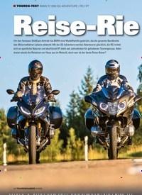 Titelbild der Ausgabe 9/2020 von TOUREN-TEST BMW R 1250 GS ADVENTURE / RS / RT: Reise-Rie sen. Zeitschriften als Abo oder epaper bei United Kiosk online kaufen.