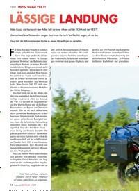Titelbild der Ausgabe 5/2019 von MOTO GUZZI V85 TT: LÄSSIGE LANDUNG. Zeitschriften als Abo oder epaper bei United Kiosk online kaufen.