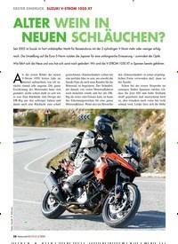 Titelbild der Ausgabe 2/2020 von SUZUKI V-STROM 1050 XT ALTER WEIN IN NEUEN SCHLÄUCHEN?. Zeitschriften als Abo oder epaper bei United Kiosk online kaufen.