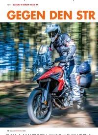 Titelbild der Ausgabe 4/2020 von SUZUKI V-STROM 1050 XT: GEGEN DEN STROM. Zeitschriften als Abo oder epaper bei United Kiosk online kaufen.