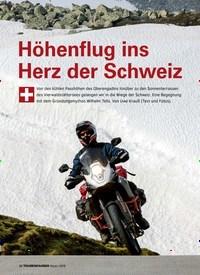 Titelbild der Ausgabe 1/2019 von Höhenflug ins Herz der Schweiz. Zeitschriften als Abo oder epaper bei United Kiosk online kaufen.