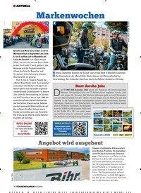 Titelbild der Ausgabe 10/2019 von Markenwochen. Zeitschriften als Abo oder epaper bei United Kiosk online kaufen.