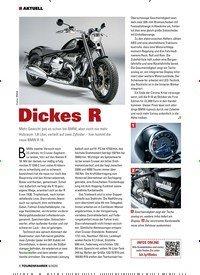 Titelbild der Ausgabe 6/2020 von Dickes R. Zeitschriften als Abo oder epaper bei United Kiosk online kaufen.