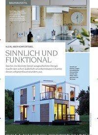 Titelbild der Ausgabe 1/2020 von KLEIN, ABER KOMFORTABEL: SINNLICH UND FUNKTIONAL. Zeitschriften als Abo oder epaper bei United Kiosk online kaufen.