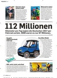 Titelbild der Ausgabe 1/2019 von News: 112 Millionen. Zeitschriften als Abo oder epaper bei United Kiosk online kaufen.