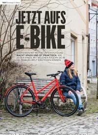 Titelbild der Ausgabe 1/2019 von Einsteiger-E-Bikes: JETZT AUFS E-BIKE. Zeitschriften als Abo oder epaper bei United Kiosk online kaufen.