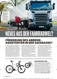 Titelbild der Ausgabe 2/2019 von NEUES AUS DER FAHRRADWELT. Zeitschriften als Abo oder epaper bei United Kiosk online kaufen.